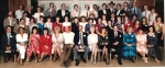 One of three group photos from the 1985 Reunion. (Carolyn Brown)