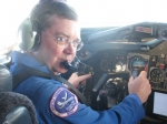 Bruce Arnold is a retired USAF pilot, who now works for NASA down in Houston.  He pilots a DC-9 jet used to train astron