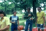 (038) 1975 Reunion Picnic Event:  Bobby Haynes, Gary Harbin (who still owes me $20 from college), Ted Kendrick and Mike