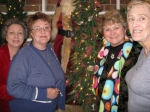 Best friends in high school:  Terri (Knight) Crawford, Paige (Joplin) Norman, Gail (Ince) Barton, and Tempie (Shelton) G