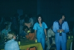 (009) 1975 Reunion Evening Event:  Ronnie Martin in the very stylish powder blue leisure suit.