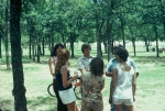 (041) 1975 Reunion Picnic Event:  Carolyn Brown in the back with Andy McGrady... ID's please.
