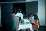 (002) Reunion Evening Event:  Carolyn Brown in the red dress, Johnny Roland, Bill Clements in the end of the table.  Cha